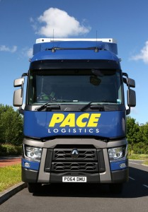 Pace Logistics Manchester Same Day Delivery Vehicle