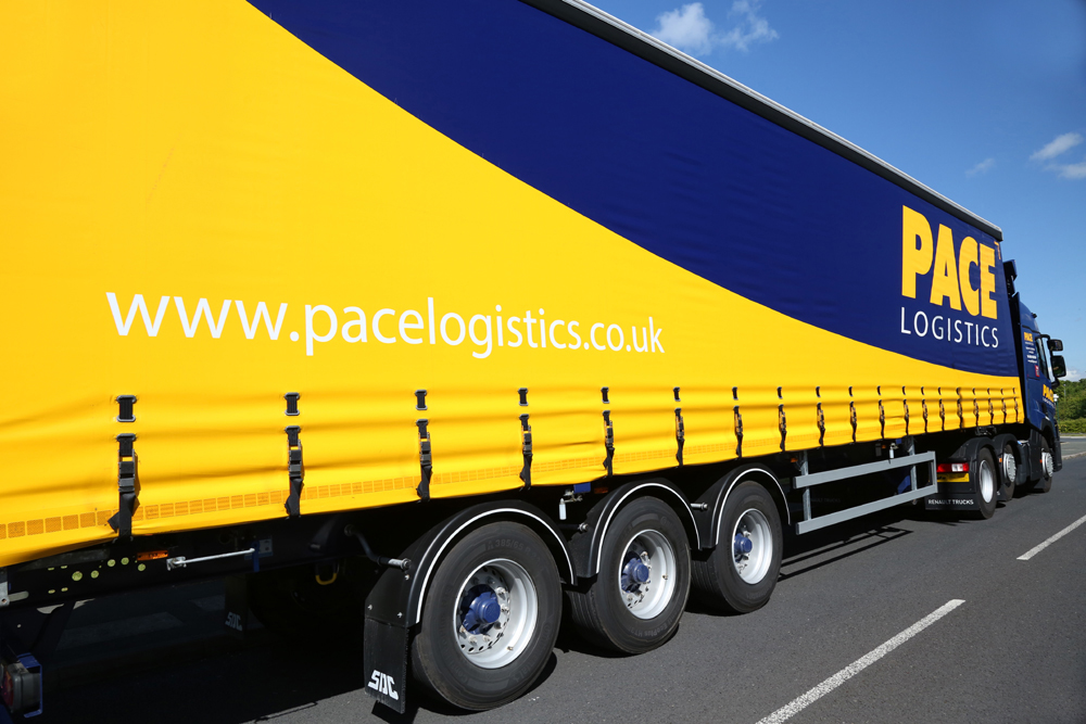 Pace Logistics Pallet Delivery Fleet