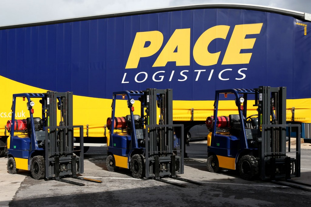 Pace Logistics Warehousing Services Fork Lift Trucks