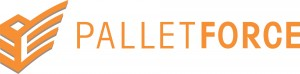 The logo for the Palletforce Pallet Delivery Network of which Pace Logistics Manchester are a member.